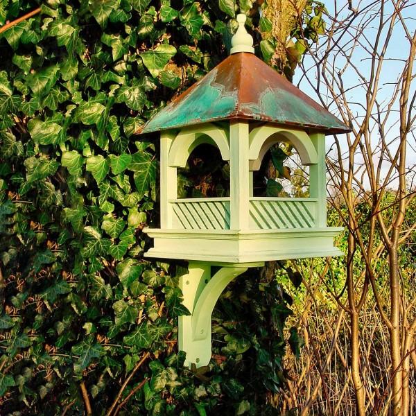 Vogelfutterhaus Kupferdach