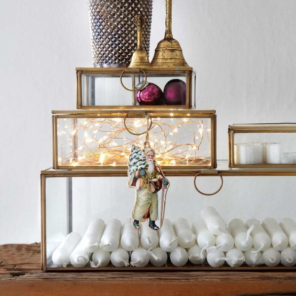 Glaskasten »Brass Glass Box«