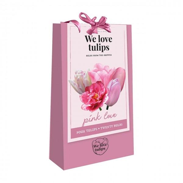 Tulpen in Geschenkverpackung