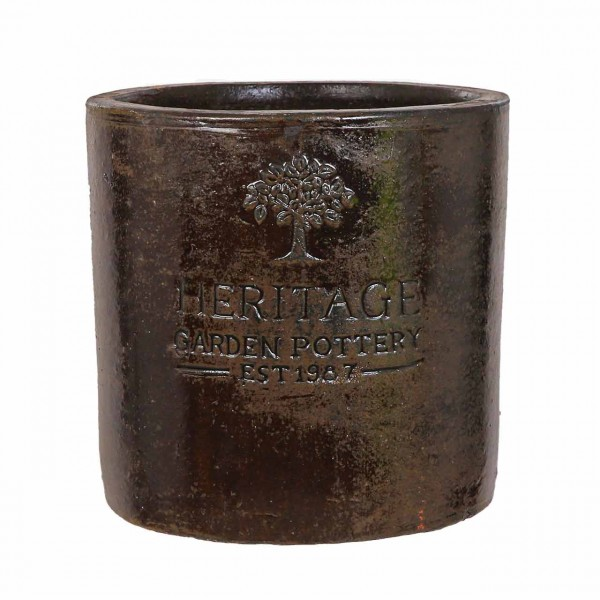 Pflanztöpfe Keramik rund