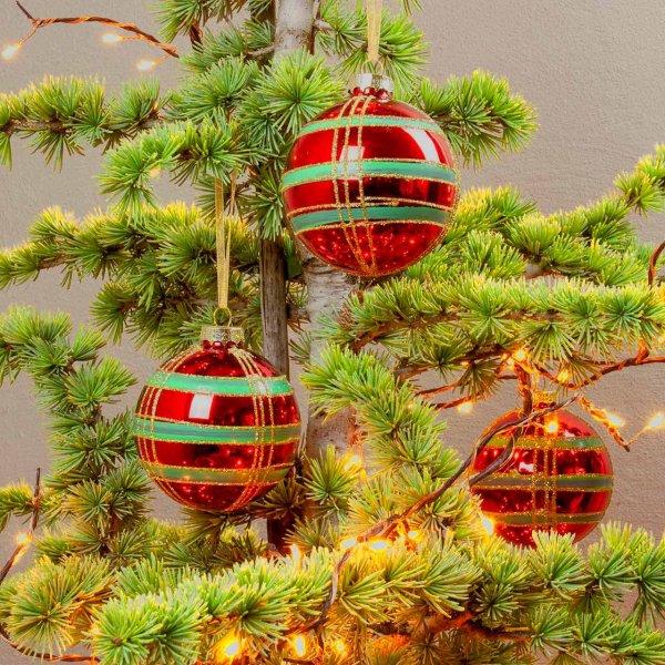 Christbaumkugeln aus Glas