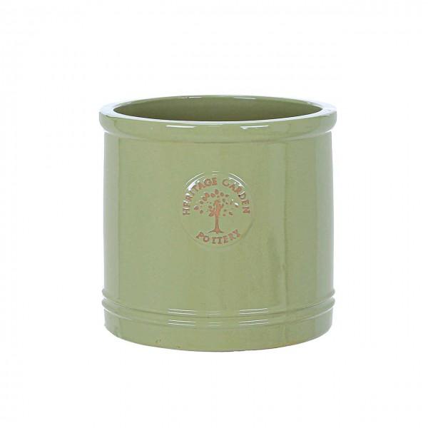 Pflanztopf Keramik - Grün