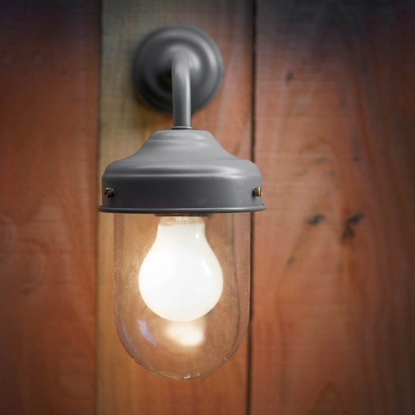 Außenwandleuchte »Barn Light« Charcoal