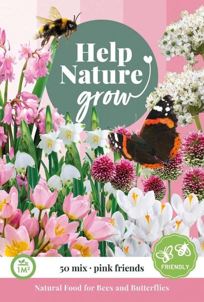 Zwiebelblumen Help Nature Grow - Pink