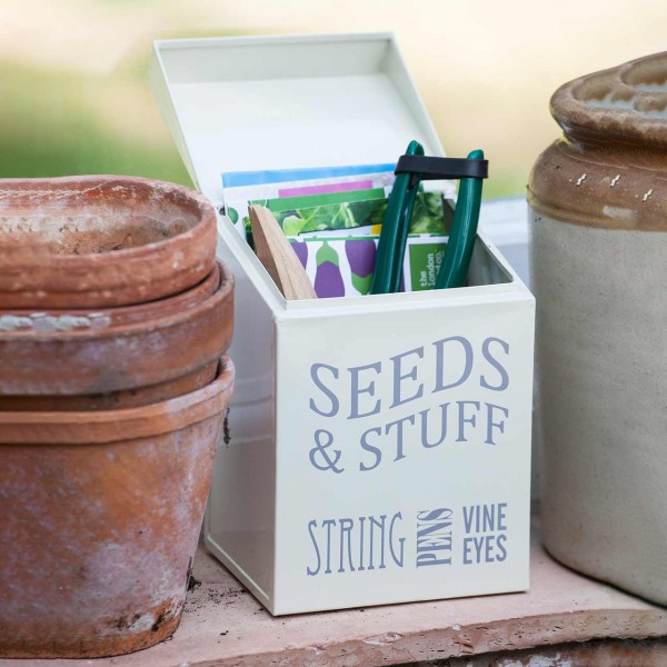 »Seeds & Stuff Tin«