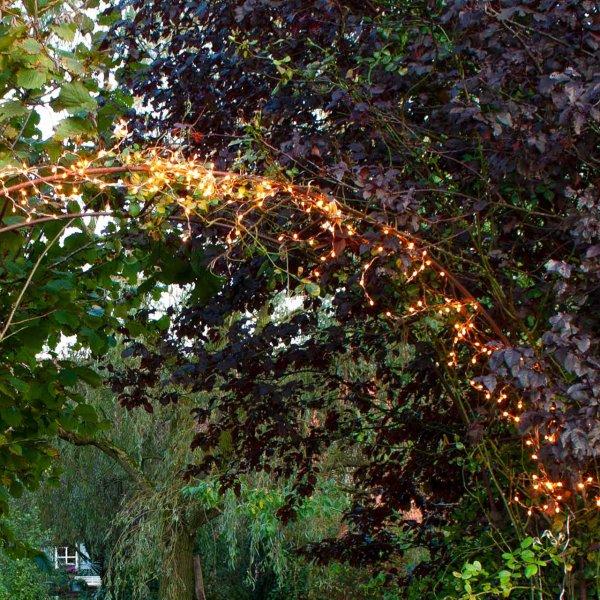 Leuchtzweig »Copper Garland«