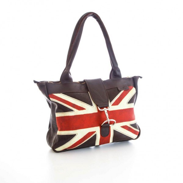 Ledertasche »Classic Flag Weekend Bag«
