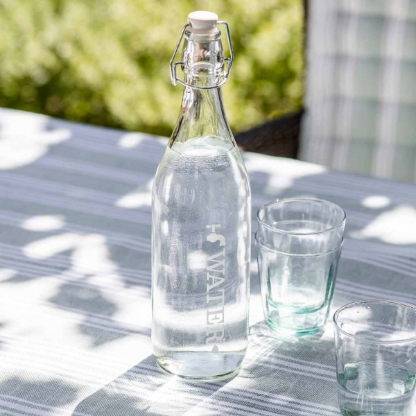 Glasflasche »Perfectly Drinkable Tap Water«
