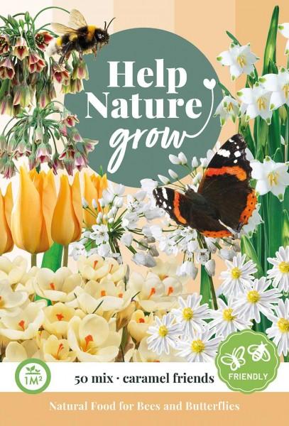 Zwiebelblumen Help Nature grow - Caramel