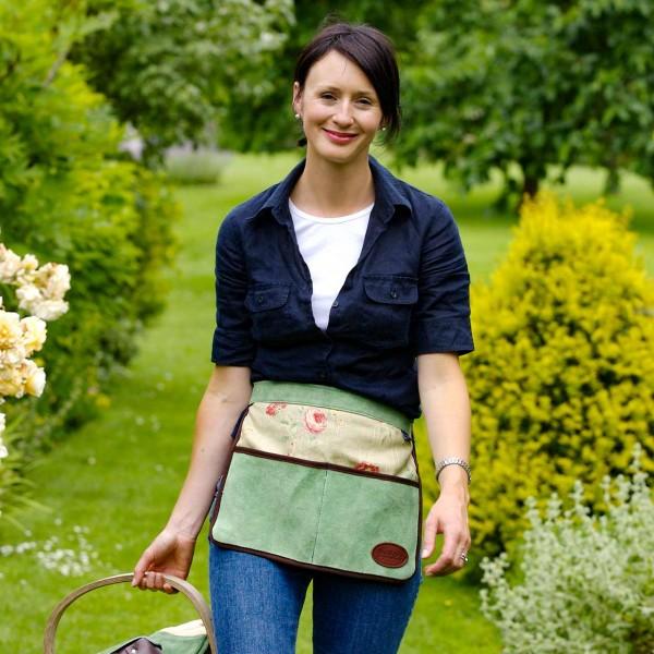 Gartenschürze »Half Leather Linen Apron«