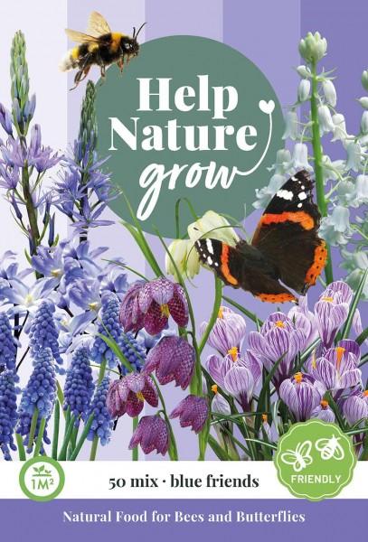 Zwiebelblumen Help Nature grow - Blue