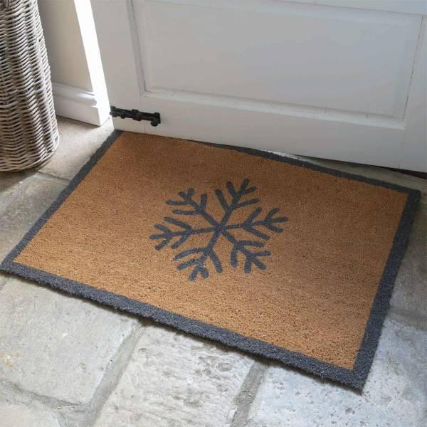 Fußmatte Schneeflocke