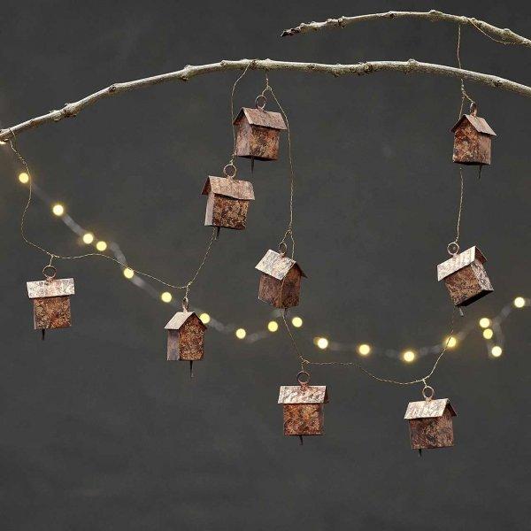 Weihnachtsgirlande »Little House«