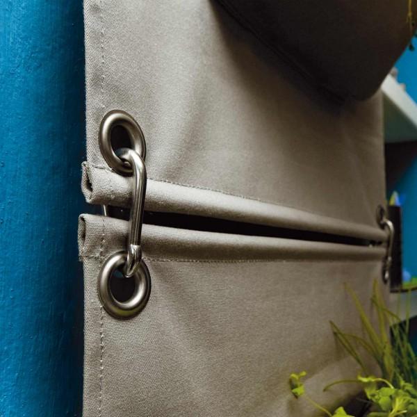 Karabinerhaken für Wandtaschen - 2er Set