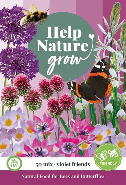 Zwiebelblumen Mix Help Nature grow - Violet