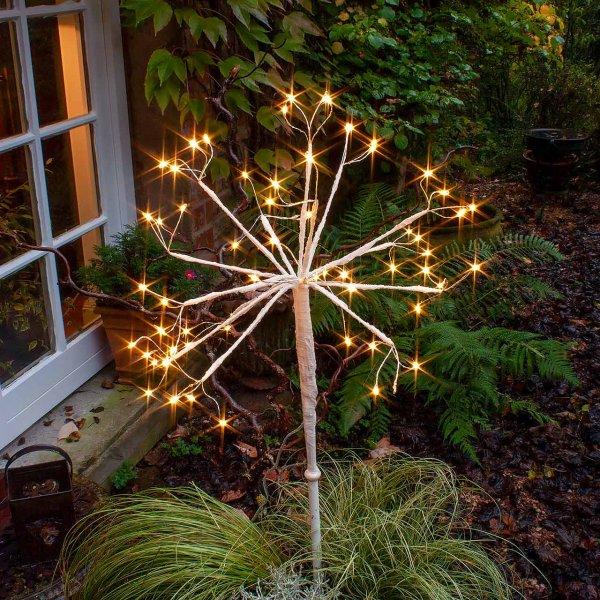 Weihnachtsdeko - Licht - Zweigkugel