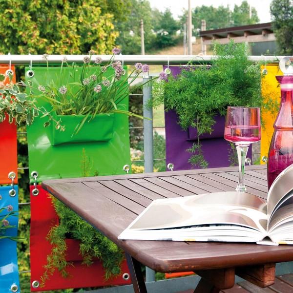 Pflanztasche für die Wand »The Green Pockets PEVA«