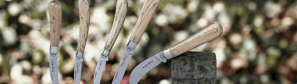 Taschenmesser und Gärtnermesser
