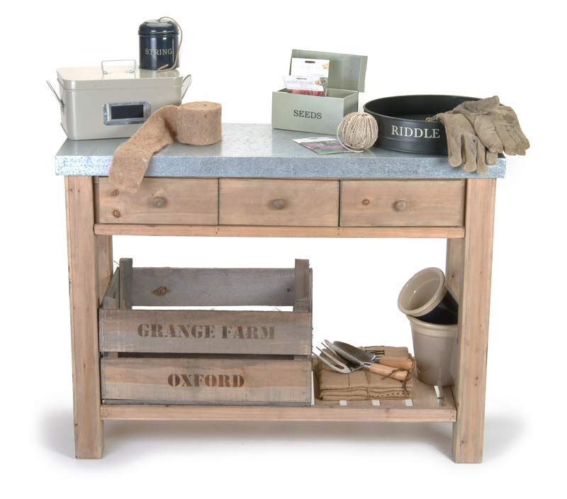 pflanztische und g rtnertische the garden shop. Black Bedroom Furniture Sets. Home Design Ideas
