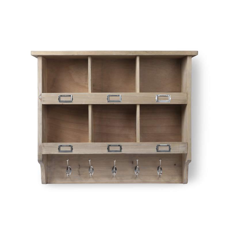 h ngeregal mit haken the garden shop. Black Bedroom Furniture Sets. Home Design Ideas