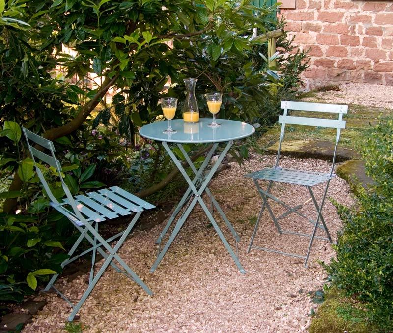"""garten-sitzgruppe in """"shutter blue"""" – the garden shop, Gartenarbeit ideen"""