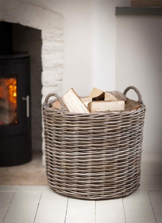rattankorb gro the garden shop. Black Bedroom Furniture Sets. Home Design Ideas