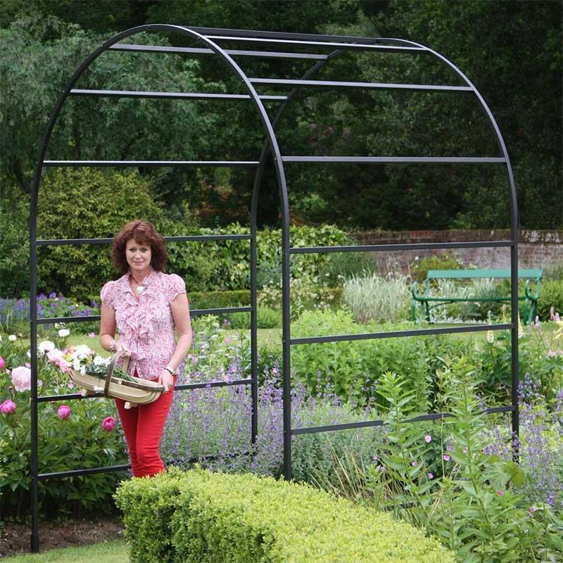 Metal garden trellis garden trellis panels garden for Axex shop galeria jardin