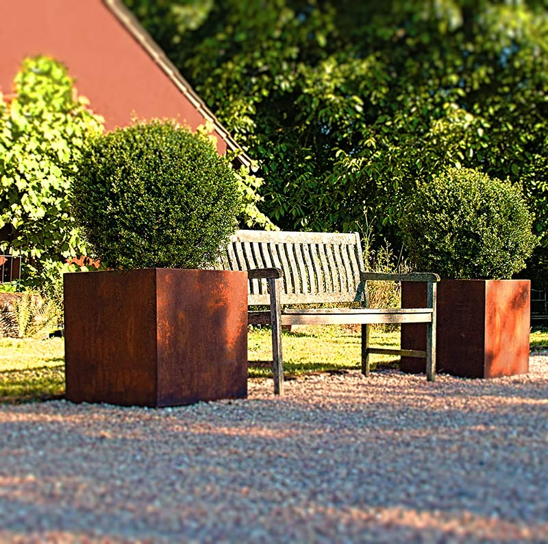 Pflanzkübel King\'s Cube – The Garden Shop