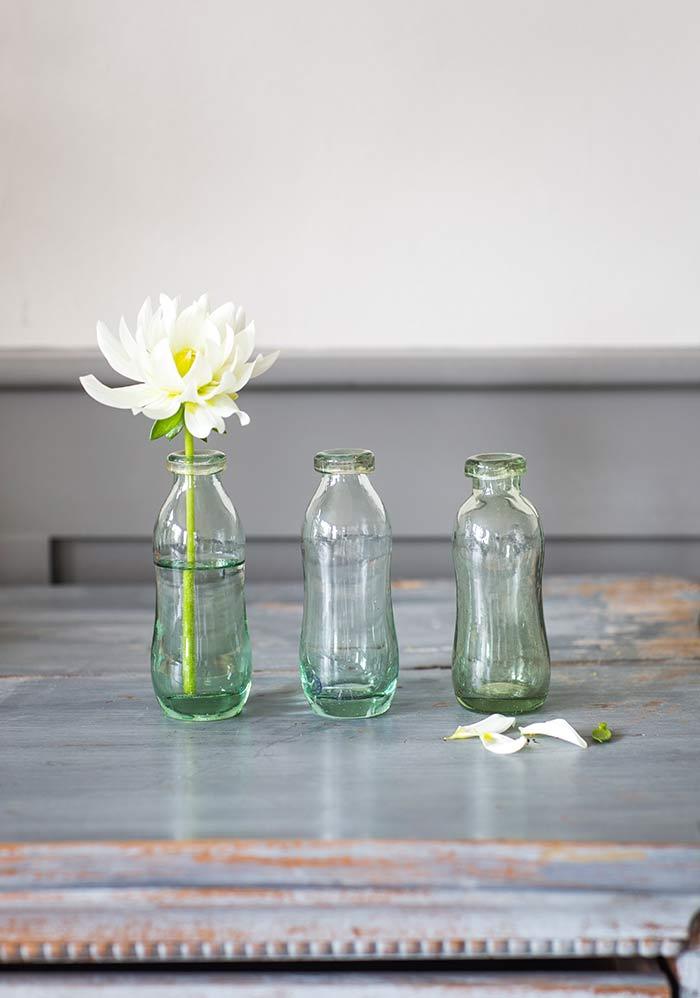 kleine glasvasen the garden shop. Black Bedroom Furniture Sets. Home Design Ideas