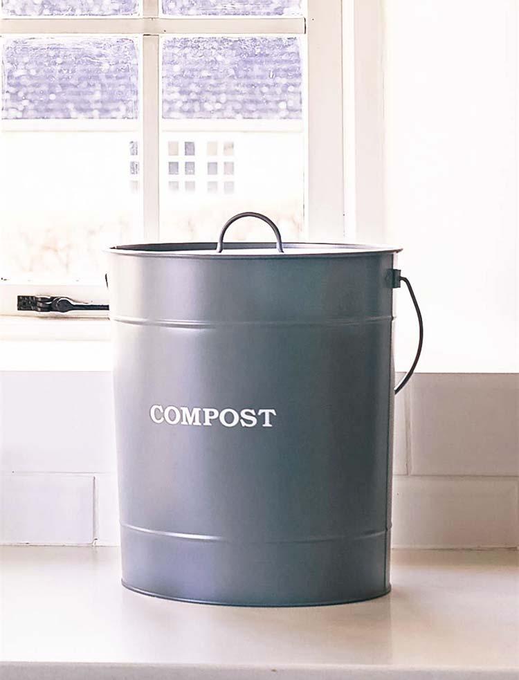 Komposteimer für die Küche – 10 Liter – The Garden Shop