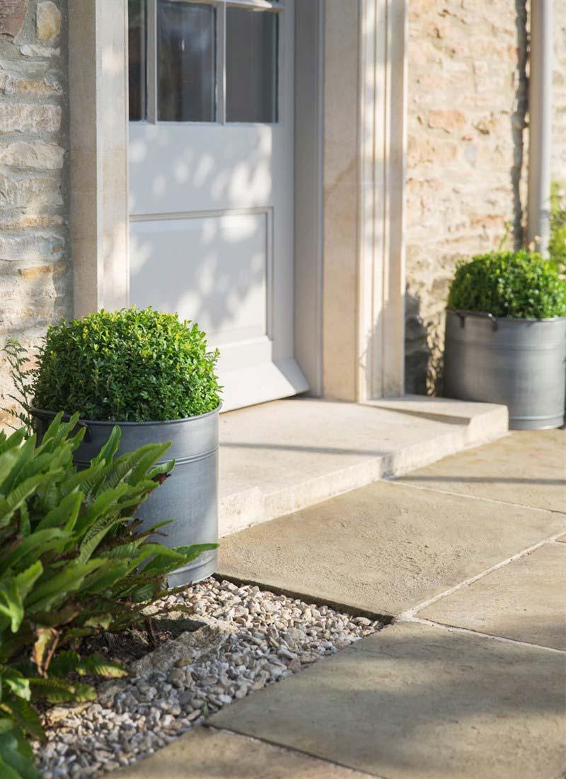 Pflanztopf aus Stahl – The Garden Shop