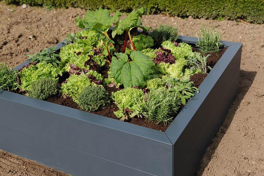 hochbeet metall the garden shop. Black Bedroom Furniture Sets. Home Design Ideas