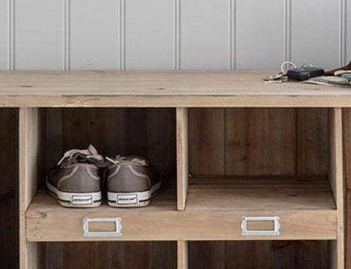 Schuhbank & Stiefelablage  »Welly Locker«
