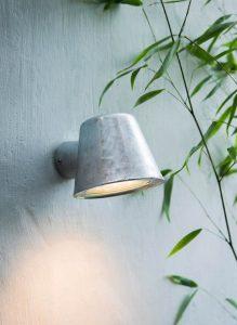 Außenlampe - verzinkt