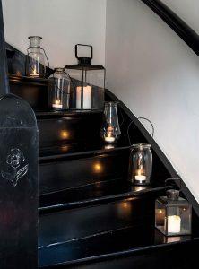 laterne aus metall the garden shop. Black Bedroom Furniture Sets. Home Design Ideas
