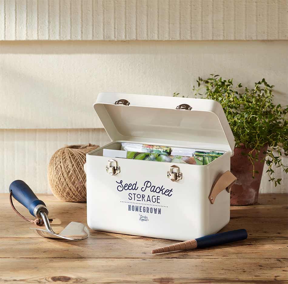 Pflanzensamen-Box